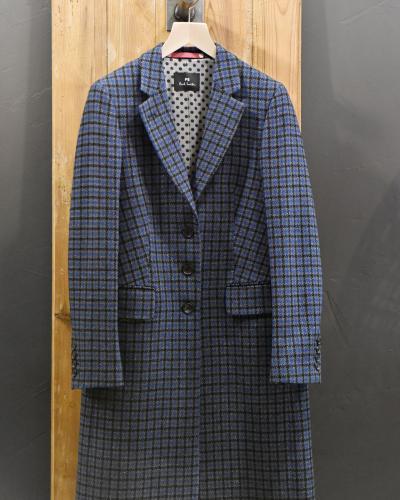 Manteau à carreaux