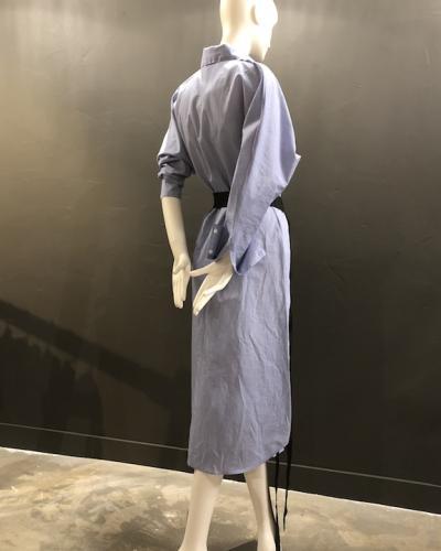 Robe chemise ceintrée