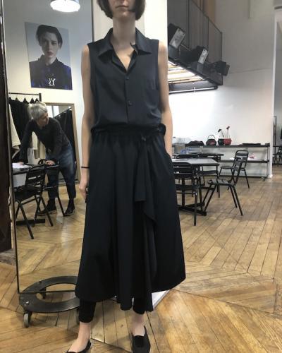 Jupe noire  Y's Y. Yamamoto
