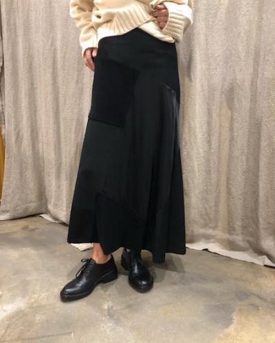 Jupe longue noire Y's Yohji Yamamoto