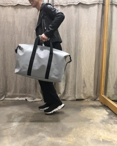 Sac Weekend Duffel Bag Rains Stone