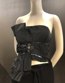 Bustier noir