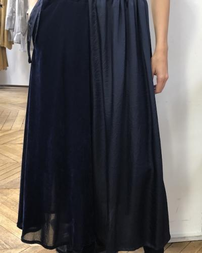 Jupe culotte bleu nuit