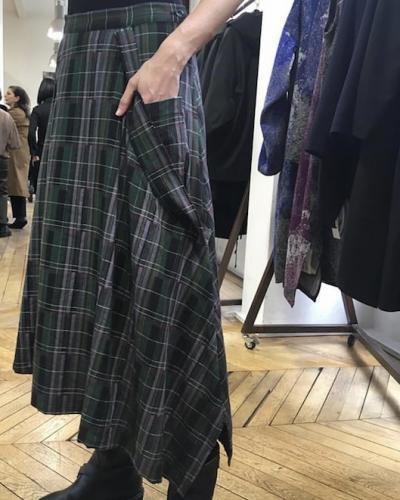 Jupe écossaise Y's Yohji Yamamoto